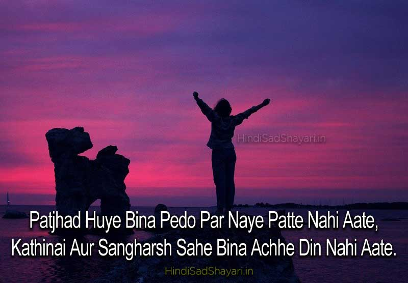 motivational true shayari